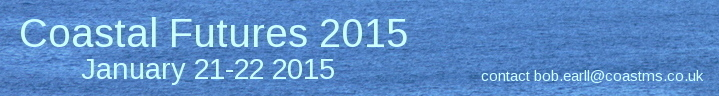 Coastal Futures 2015 January 21 and 22